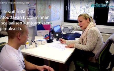 Tutustu työpajatoimintaamme videon välityksellä