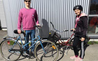 Vantaalla viedään palveluja kotiin kahdella pyörällä